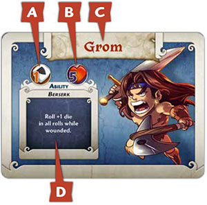 ARCADIA QUEST INFERNO 1 x DOUBLE SIDED TILE 21A//B