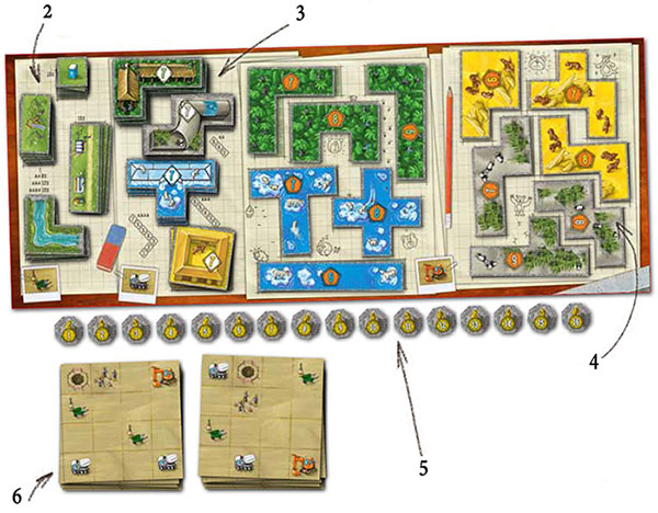 How To Play Barenpark Official Rules Ultraboardgames