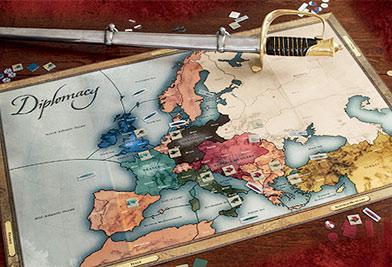 Setup of Diplomacy   UltraBoardGames on
