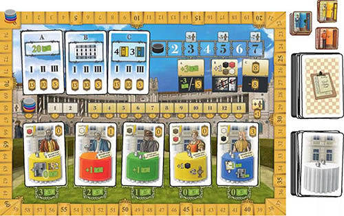 How To Play Grand Austria Hotel Official Rules Ultraboardgames