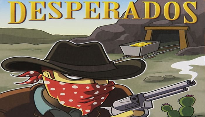 How To Play Desperados Official Game Rules Ultraboardgames