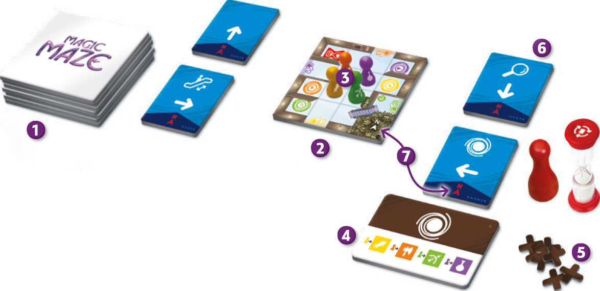 How to play Magic Maze | Game Rules | UltraBoardGames