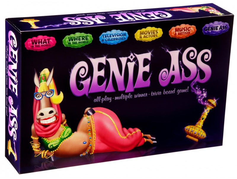 How to play Genie Ass | Game Rules | UltraBoardGames