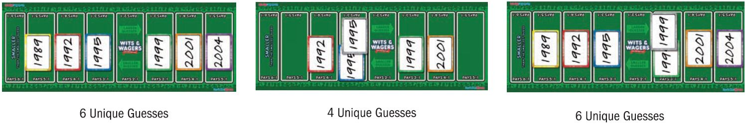wits and wagers betting rules in blackjack