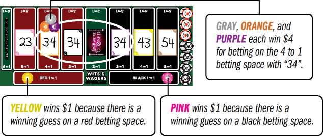 Wits and wagers betting rules in blackjack coral each way betting rules in no limit